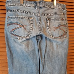 ⭐ 4/30 $ Silver Jeans distressed light wash jeans